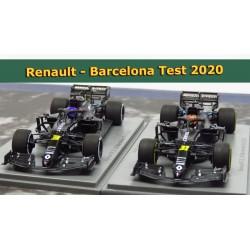 Renault R.S. 20 Ricciardo + Ocon Barcelona Test 2020
