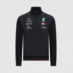 Mercedes AMG F1 Mens half zip Top