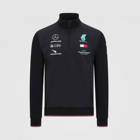 Mercedes AMG F1 Mens half zip Top