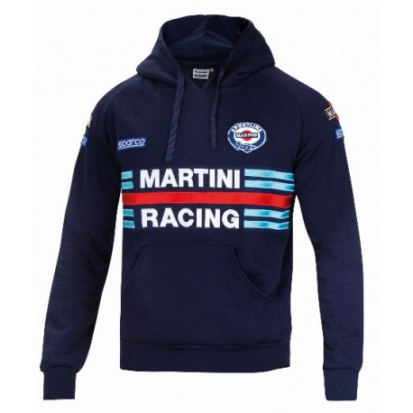 Sweat capuchon MARTINI RACING, bleu