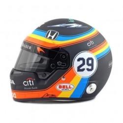 Mini casque 1/2 Fernando Alonso Indy 500 2017