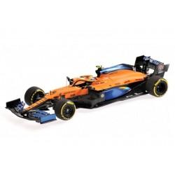 McLaren Renault MCL35 Lando Norris, 3ème au GP d'Autriche 2020