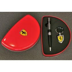 Ferrari pen and keyholder in metal box