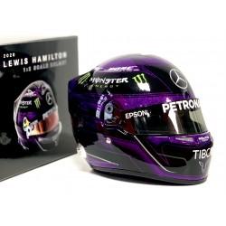 Mini casque 1/2 Lewis Hamilton GP de Styrie 2020