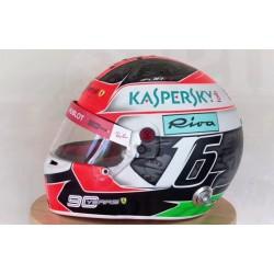 Mini casque 1/2 Charles Leclerc Monza GP 2019