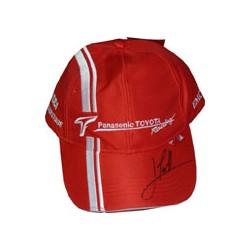 TRULLI signed Panasonic Toyota Racing Cap