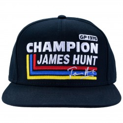 Casquette James HUNT Silverstone 1976