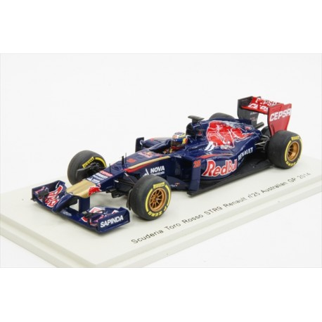 Toro Rosso STR9 J.-E. Vergne, GP d'Australie 2014