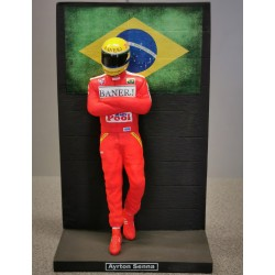 Figurine Ayrton SENNA / British F3 Champion