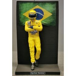 Figurine Ayrton SENNA / CAMEL LOTUS