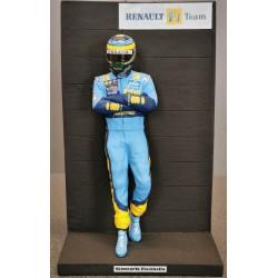 Giancarlo FISICHELLA / RENAULT F1 Figurine