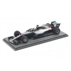 Mercedes F1 W09 L.Hamilton Practice Abu Dhabi GP 2018