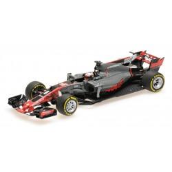 Haas F1 VF-17 Romain Grosjean Spanish GP