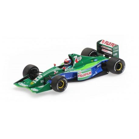 Jordan Ford 191 B.Gachot, GP d'Angleterre 1991