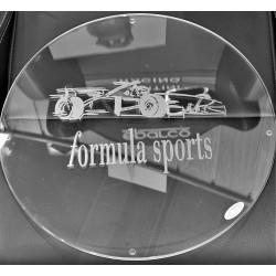 Plaque en verre pour réaliser une Table F1